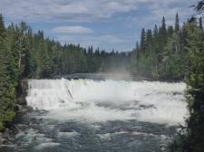 Dawson Falls, Canada - June 2015